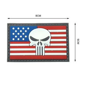 Customise Patch US Army Family Crest Rubber Military Logo PVC Patches For Clothing/Hats