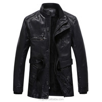 gothic leather coat