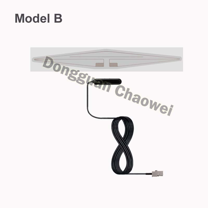 Factory Price Car Satellite Digital TV Antenna With Amplifier DVB-T ISDB-T Signal Antenna