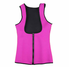 Blue slimming redu thermo cami hot slim belt Neoprene shaper Vest