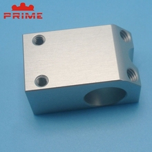 High Quality Lathe Alloy Clear Anodized Aluminum Prototype Alu Cnc Machined Parts