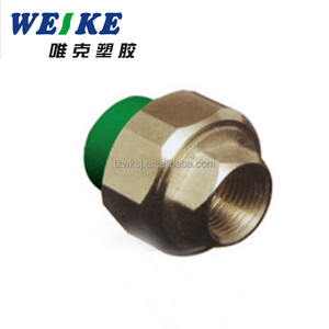 Water Supply PPR Pipe Fittings Female Threaded Union