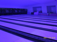 bowling alley bowling full set including bowling pinsetter/bowling ball return/bowling lanes