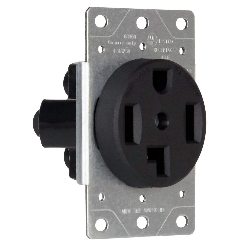 Buy Enerlites 30 Amp 125  250 Volt Electrical Dryer Outlet