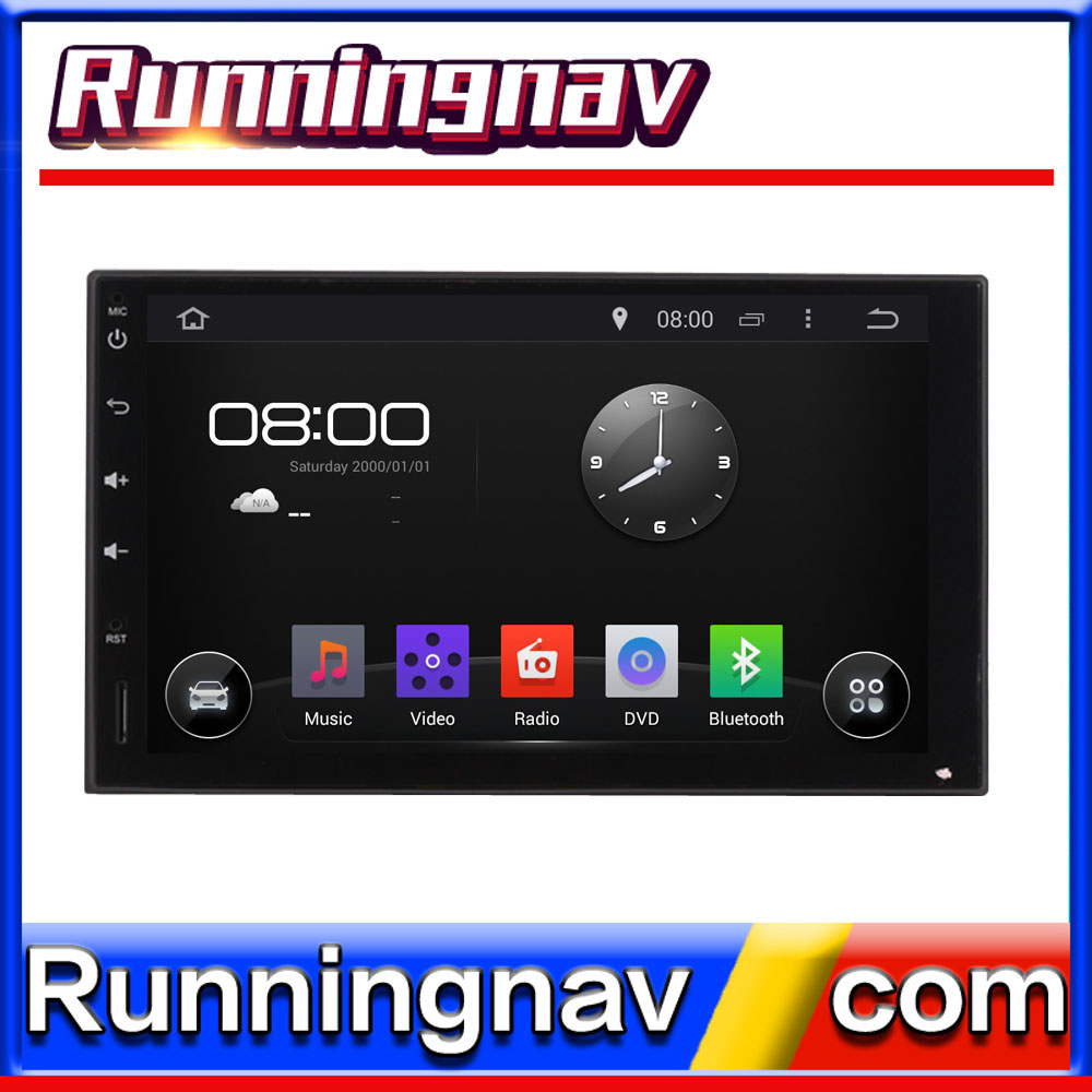 "Android 7"" Multimedia universal Car DVD Player GPS Navigation with Back Camera"