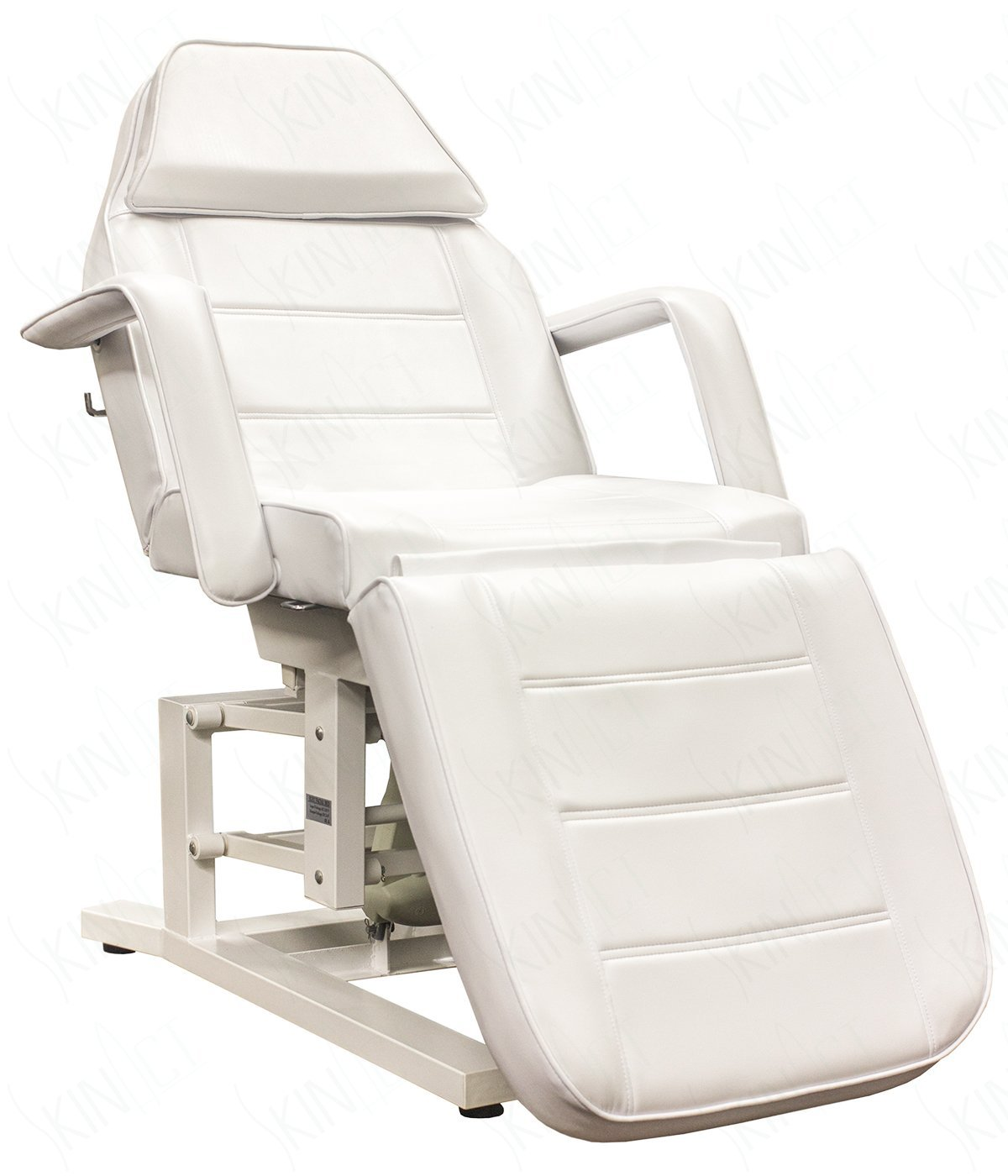 Electric Facial Chair, Massage Chair with Three 3 Motor (WHITE)