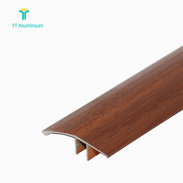 Aluminum T Shape Floor Threshold T Trim Edge Transition Strip For