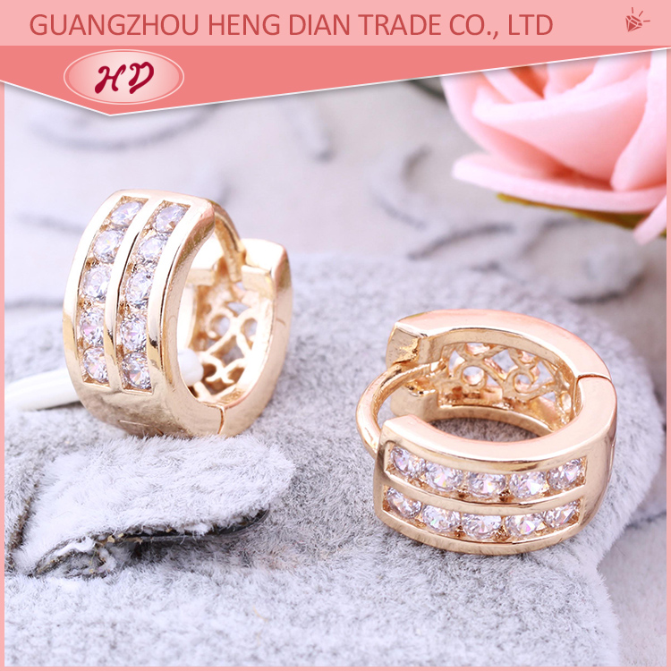 Wholesale All Types Of Dubai New Fashion 18k Gold Plated Cubic ...