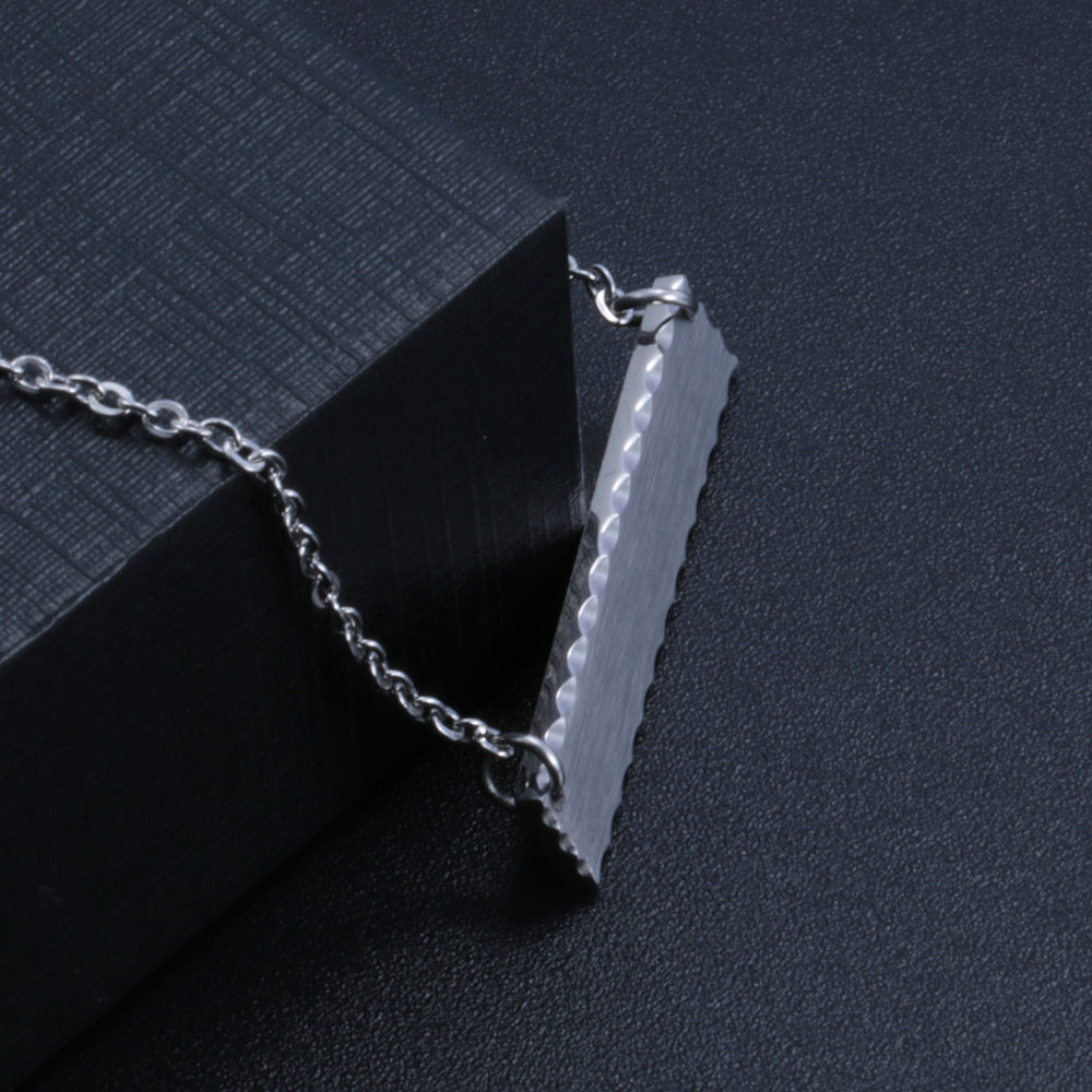 Trending Products 2019 Stainless Steel Engraved Bar Customizable Pendant