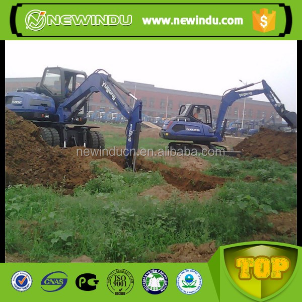 Yugong low price 0.05m3 mini Excavator WY15-7 for sale