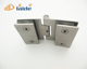 70mm sus304 casting stainless steel satin glass 180 degree hinges