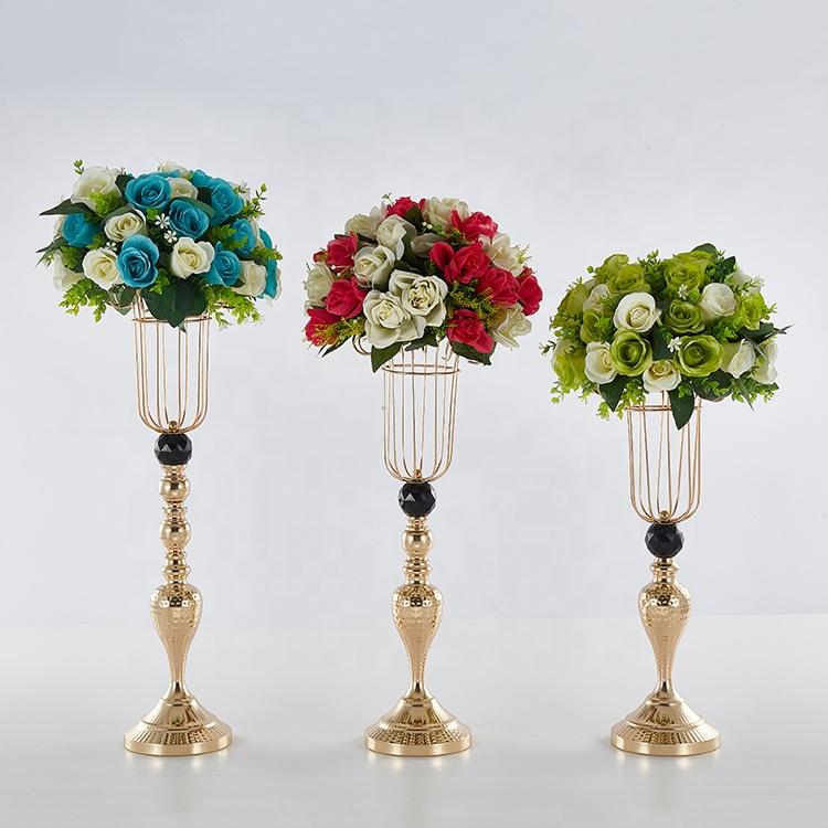 Diamond ball lantern wedding tall vase