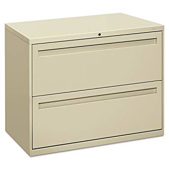 HON COMPANY 782LL 700 Series Two-Drawer Lateral File, 36w x 19-1/4d, Putty