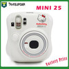 Best Gift Fujifilm Instax MINI 25 Hello Kitty Instant Film Camera , White Color