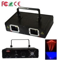 Good Quality Color Double Heads Stage Laser light DJ Equipment Show Projection for DJ Disco Party Red and green led laser lig