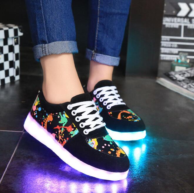 cbb6962e1e Zm52201a China Shoes Stock Lots Cheap Mens Light Up Led Shoes ...