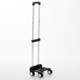 Customized Adjustable Luggage Accessories Detachable Aluminium Trolley Handle luggage wheel and handle