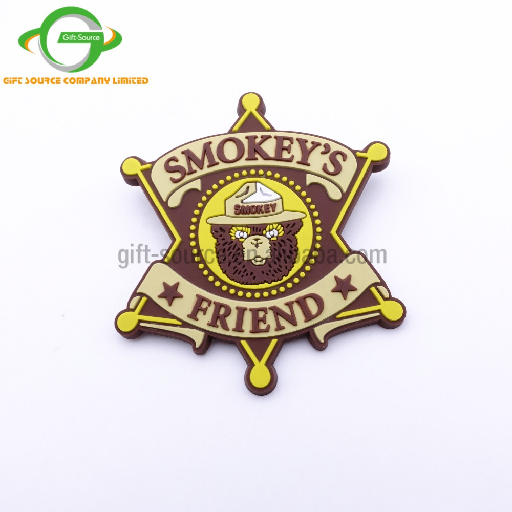 Make You Own Design PVC Lapel Pin Rubber Badge with BC