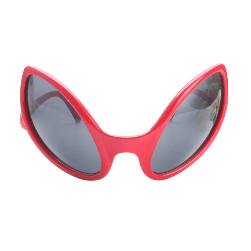 f92f5a9b76 Get Quotations · Wenasi Funny Alien Novelty Glasses Halloween Party  Sunglasses Accessories Props Party Supplies Decoration