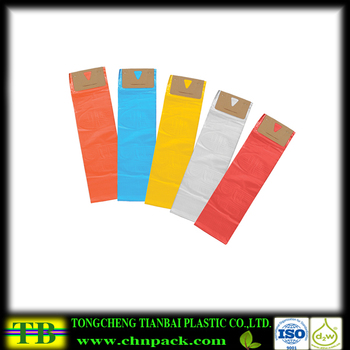 colored poly bags for newspaper