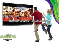 84inch Big ipad all in one pc computer with TV tuner support 3D TV with touch screen software for home /school/office/hotel