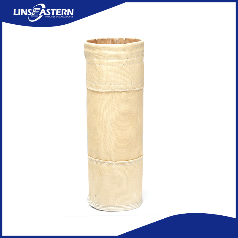 China supplier Polyphenylene Sulfide Fiber Filter Bag with bottom price