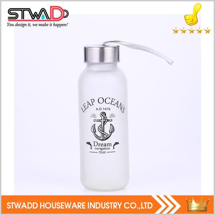 Top level hot-sale water planting glass bottle