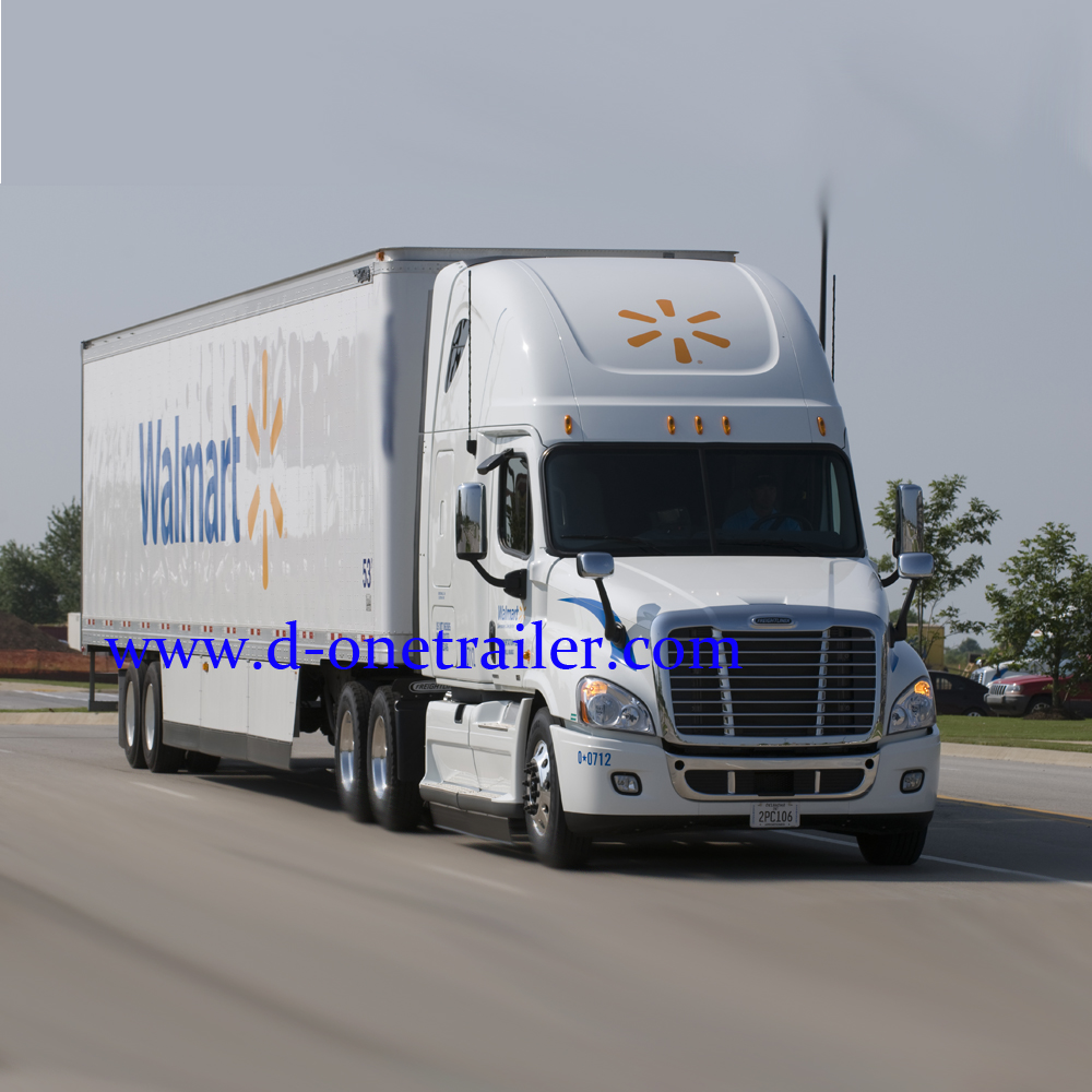 40ft Food 3Axle Refrigerated Fiberglass Insulated Van Semi Cargo Box Container Trailer For Sale