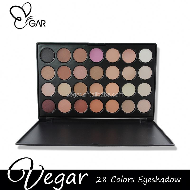 NO LOGO 28 colors eyeshadow palette brand cosmetics and eyeshadows