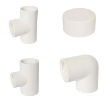 Chinese ISO Large Diameter 90mm 200 630 mm Water Supply and Sewer Drainage PVC Pipe Fittings