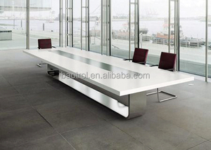Modern office acrylic solid surface conference table/marble meeting table