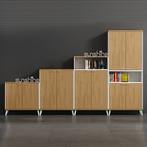 Customized imitation wood-grain office filing cabinet