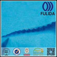 CVC polyester cotton elastane knit velour fabric for workwear T-shirts