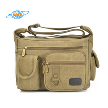 China supplier canvas military messenger bags for men