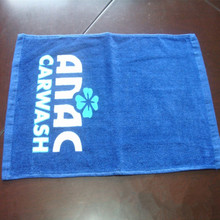 Custom Logo Printing Bar Towels With Beer Logo