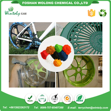 High utilization RAL smooth surface epoxy polyester powder coating