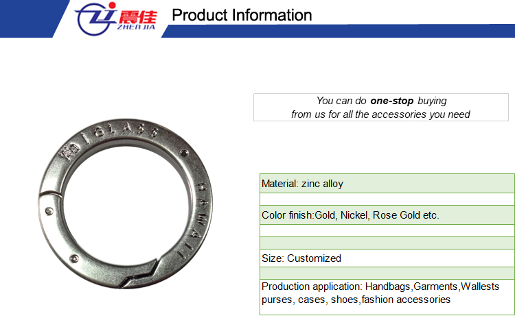 Professional Supplier open metal o-ring