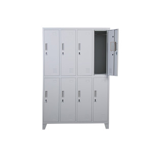 rfid used changing room toy locker system with 8 doors