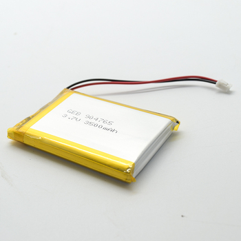High capacity 904765 3.7V 3500mah rechargeable lipo li ion lithium polymer battery