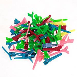 50Pcs Mixed Mini Hairdressing Salon Hair Clips Hair Salon Sectioning Clips