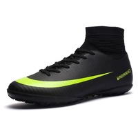 Men Sports High Ankle Football Boots Shoe Outdoor/Indoor Soccer shoes
