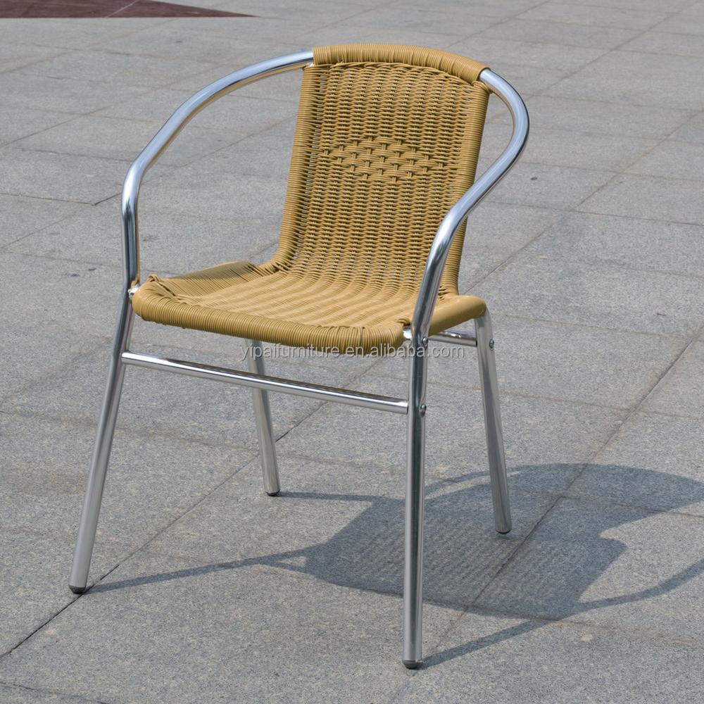 Rattan Chair Metal Legs: Cheap Outdoor Furniture Cane Chair Rattan With Metal Legs