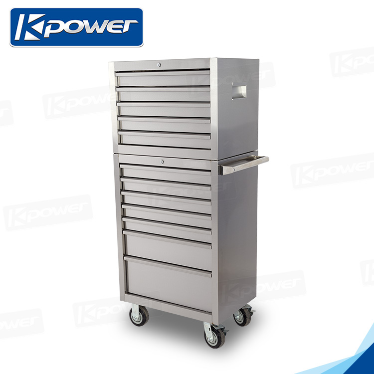 cheap stainless steel tool storage drawer cabinet