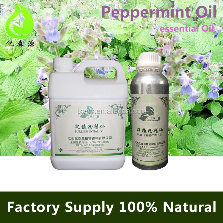 High quality 100% Pure Natural Peppermint Oil Plant Extaction Carrier Oil Essential Oil Aromatherapy Factory Bulk Prices