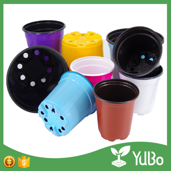 cheap plastic flower plant nursery pot with vairous size for garden