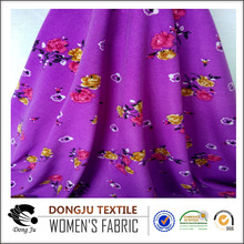 Textile Knitting FDY one side brush jersey fabric Printind unique clothing fabric textile raw material