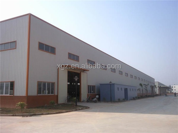 rigid construction design steel frame structure