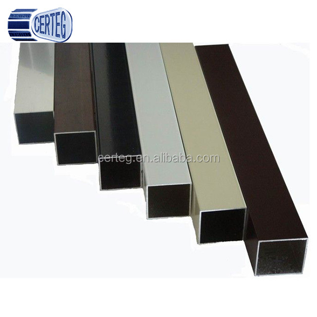 Black/Painted/Galvanised rectangle steel tubes