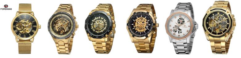 Gewinner Automatische Uhr Mechanische 2018 Heißer Verkauf Klassische Männer Edelstahl Individuelles Logo Armbanduhr