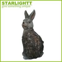 Economic new products easter resin spring bunny figurines